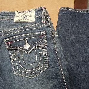 Girls True Religion jeans sz 14